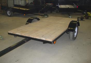 Trailer 4′ x 8′ – 2000 pounds – 13 inch wheels