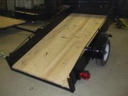 Trailer 4′ x 8′ – 2000 pounds – 12 inch sides