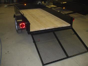 Trailer 4′ x 8′ – 12 inch sides and 34 inch door STARTING AT $ 990