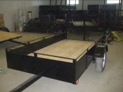 Trailer 4′ x 8′ – 12 inch sides and 34 inch door
