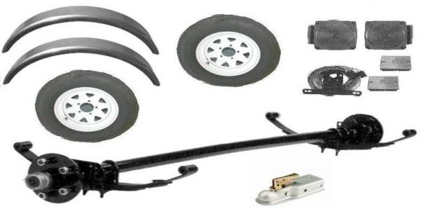 DIY Trailer Kit (4×8)