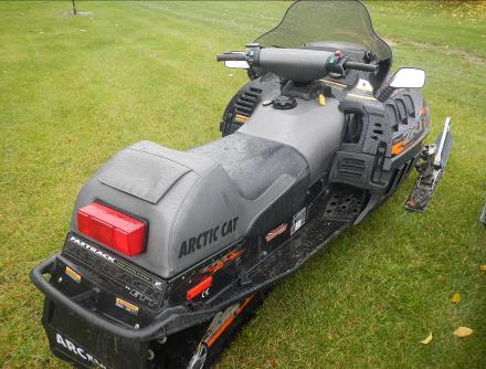 2002 600cc Arctic Cat ZRT Snowmobile