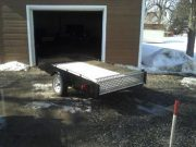 Trailer 4′ x 8′ – 12 inch sides with ramps